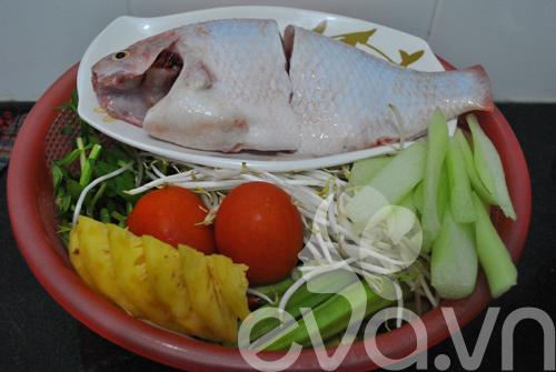 Canh cá nấu chua kiểu miền Nam - 1