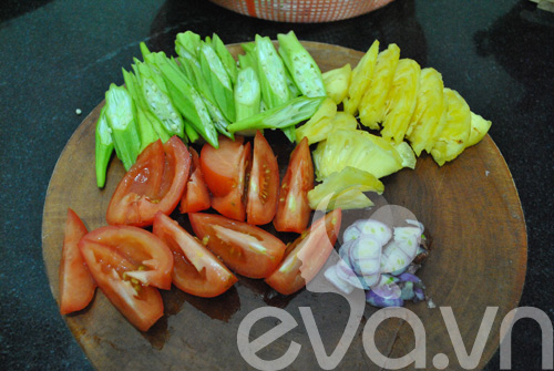 Canh cá nấu chua kiểu miền Nam - 3