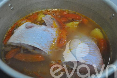 Canh cá nấu chua kiểu miền Nam - 7