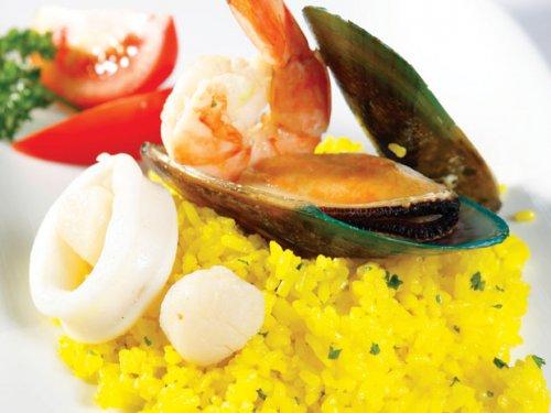 Cơm mimosa hải sản