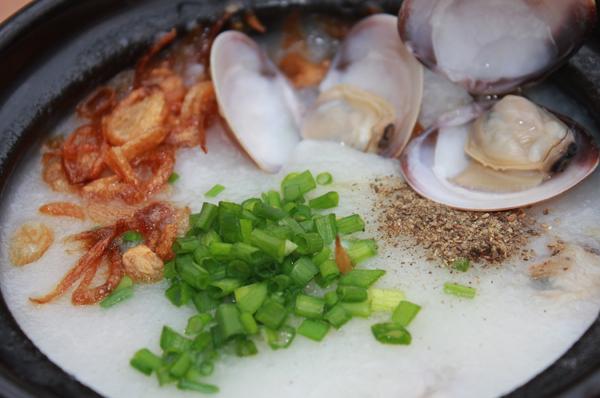 Cháo hải sản, món ngon dành cho mùa đông