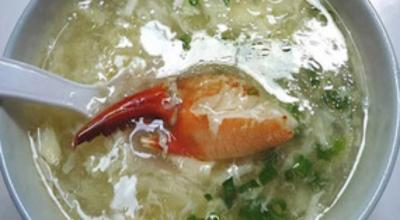 Súp cua biển Cà Mau bổ dưỡng